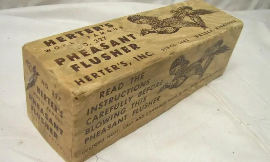 Herter's No. 327 Pheasant Call