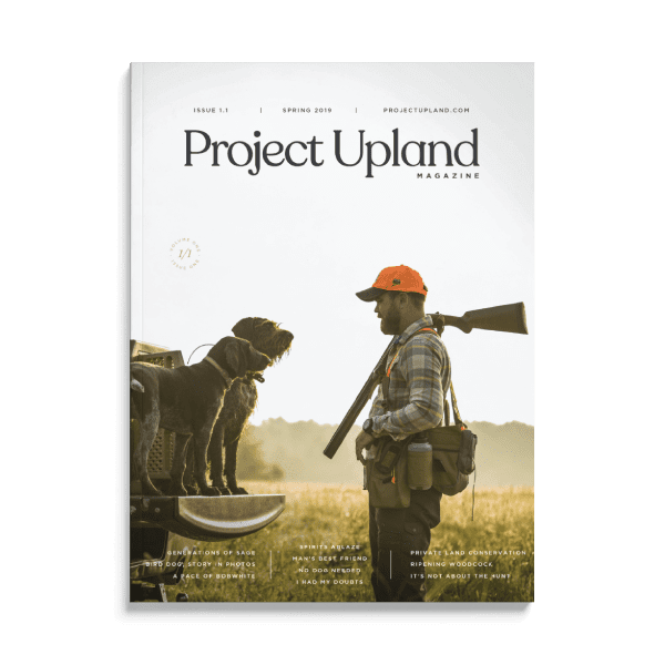V1N1 Front Cover Spring 2019 Project Upland Magazine