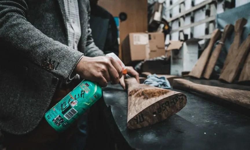 Selecting wood for an AYA No. 2 sidelock shotgun