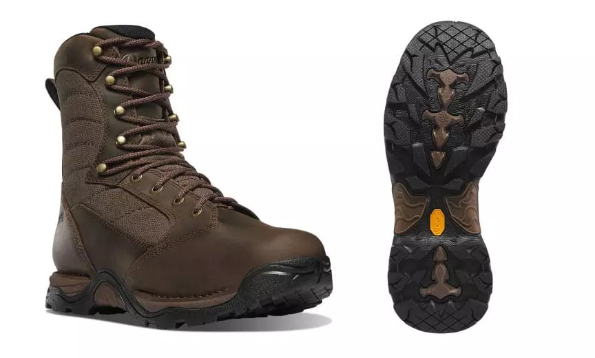 The boot and sole of the Danner Pronghorn