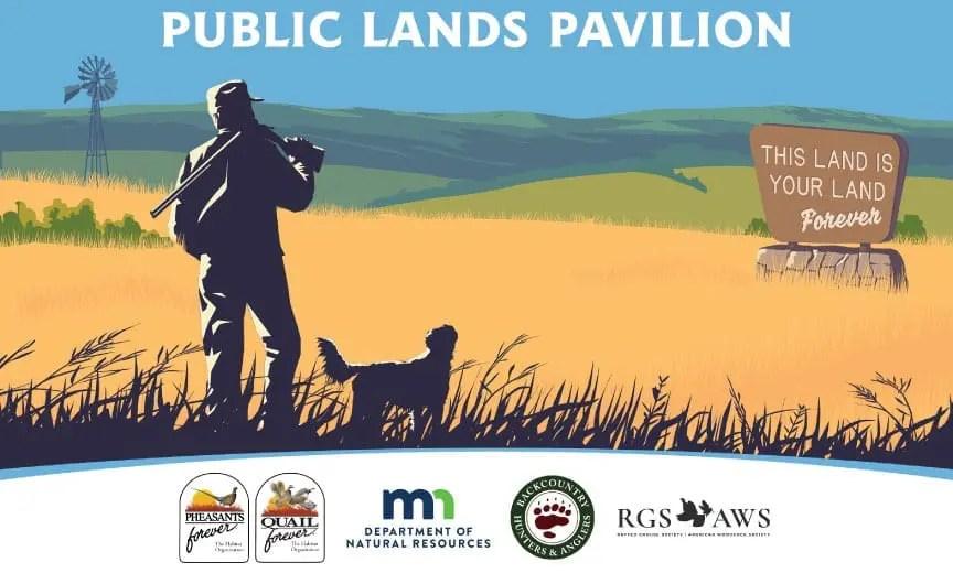 The Public Lands Pavilion flyer