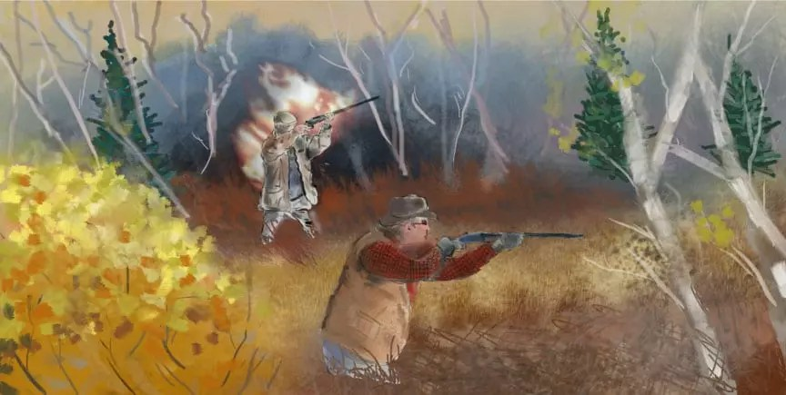 An illustration from the princes grouse.