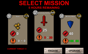 Mission Select Screenshot