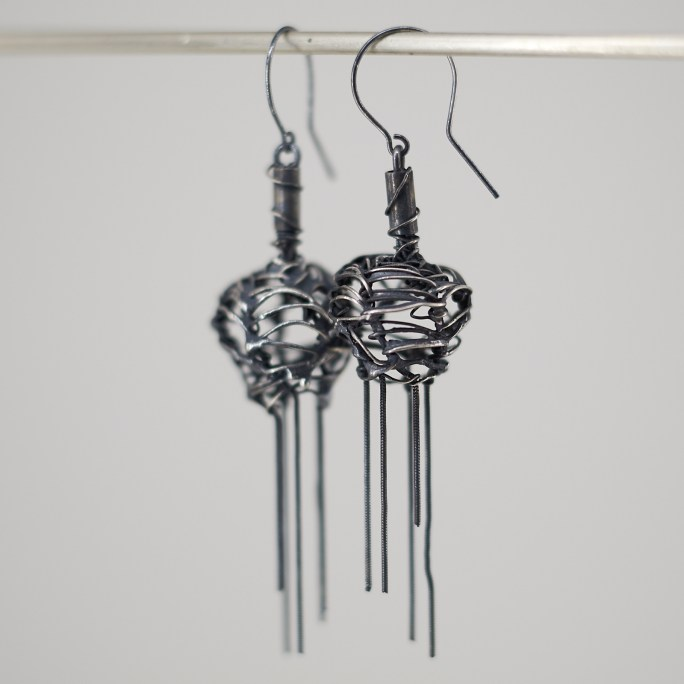 French Wire Fringed earrings
