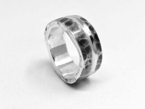 Chunky Men's Sterling Ring
