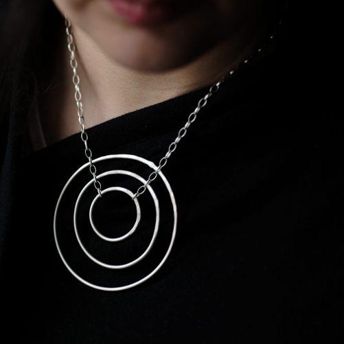 Huge karma necklace