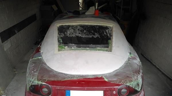 Formerstellung mit Bauschaum - Fensterbereich