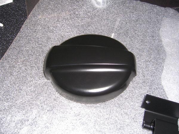 Detailaufnahme Cobra-Tankdeckel