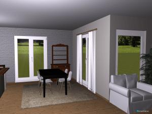 Essbereich mit Fenster