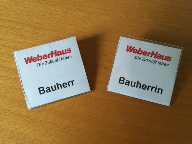 Bauherr/Bauherrin