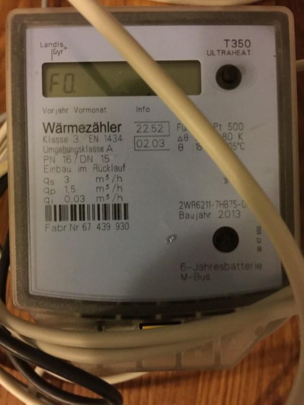 Ultraheat T350 Wärmemengenzähler