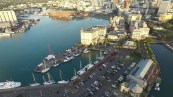 Port Louis from drone