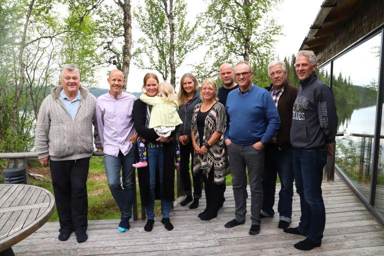 Gruppbild på ambassadörerna i Projekt Kaxås