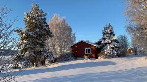 SÅLD! Gavel mot sydost. Fastigheten Kaxås 128 till salu.