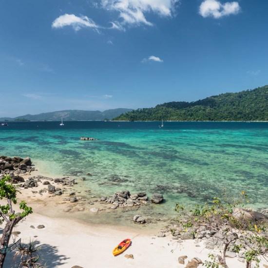 dziewicze plaże Tajlandii