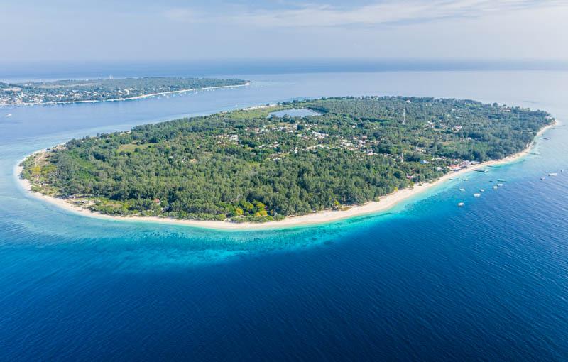 ubud rajskie wyspy Gili