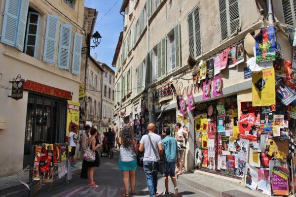 rue festival avignon