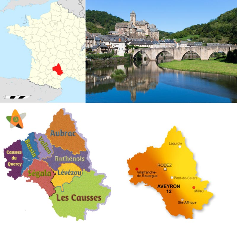 aveyron geographie