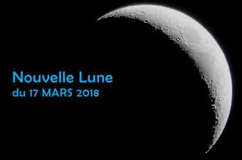 nouvelle lune de mars