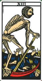 la mort tarot marseille