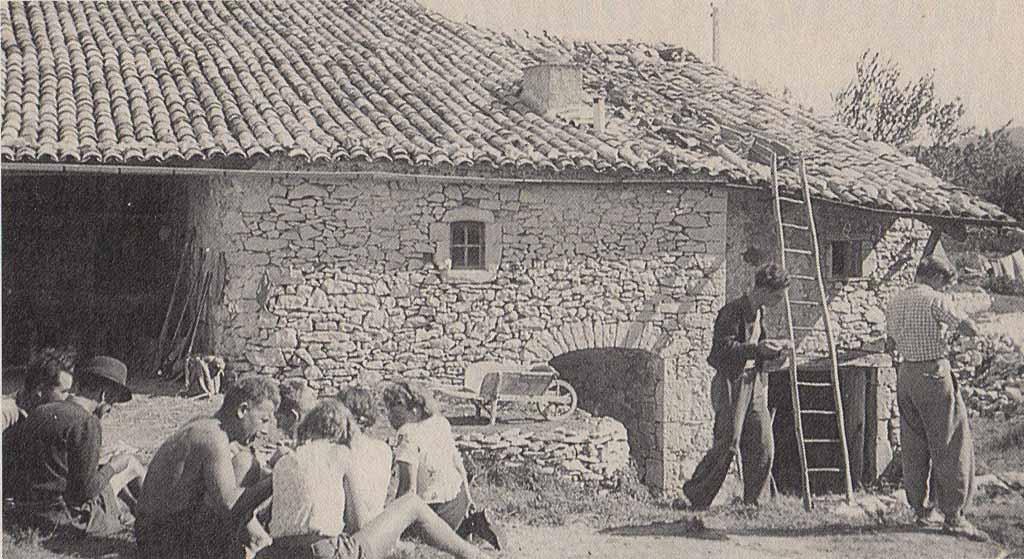 Giono dans le Contadour : l'aventure d'une communauté utopique - Projet la Passerelle