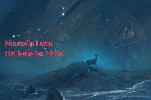Nouvelle lune 6 janvier 19 : GRANDIR !