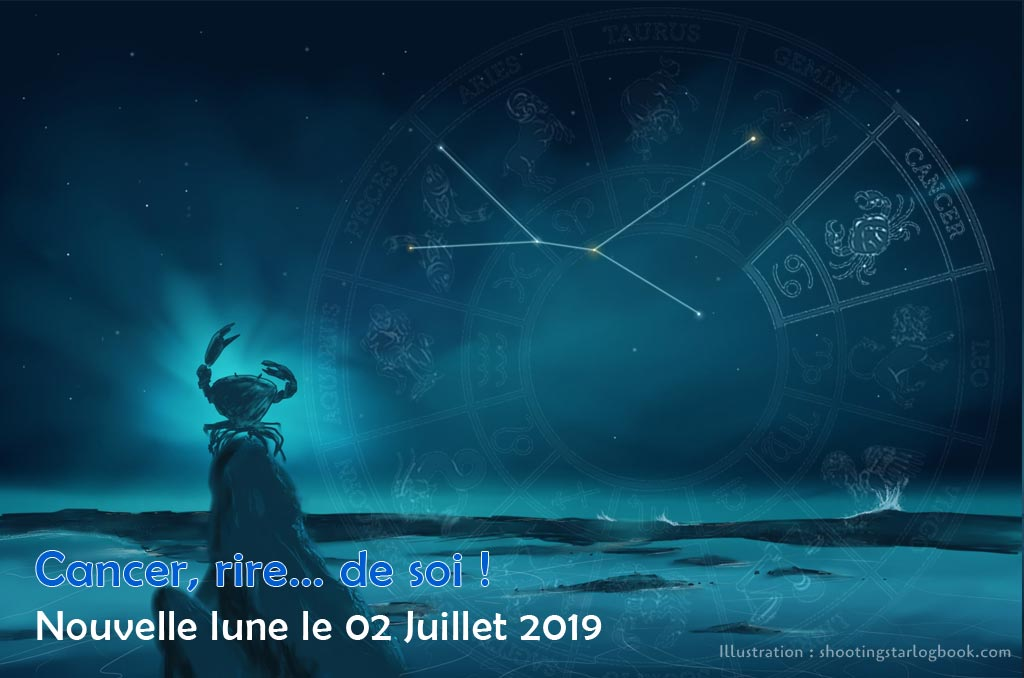 Nouvelle Lune du 2 Juillet 2019 – Rire et vivre