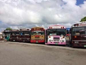 Bus pour le Bélize