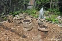 Création d'un bag garden... et voilà le travail !