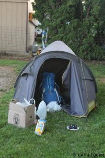Camping à la française