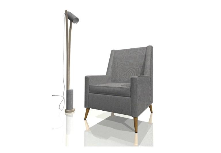 Fauteuil_luminaire_Armchair_floor_lamp