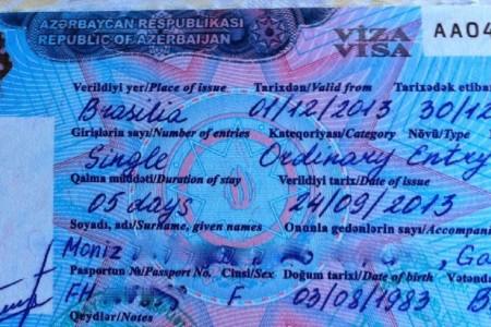 Como tirar o visto para o Azerbaijão