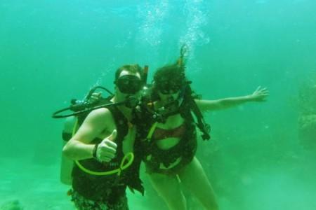 Como é fazer mergulho em Punta Cana