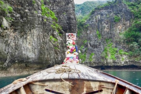Tailândia: passeio de barco pelas Ilhas Phi Phi