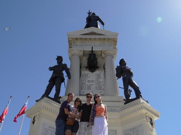 O Monumento aos Heróis de Iquique