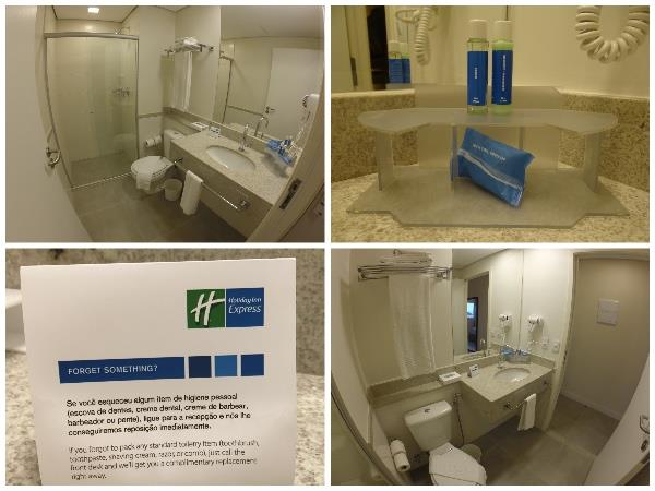 Banheiro Hotel Holiday Inn Express Rio Branco