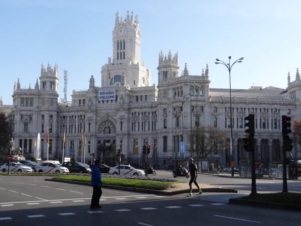 Plaza Cibeles Madri