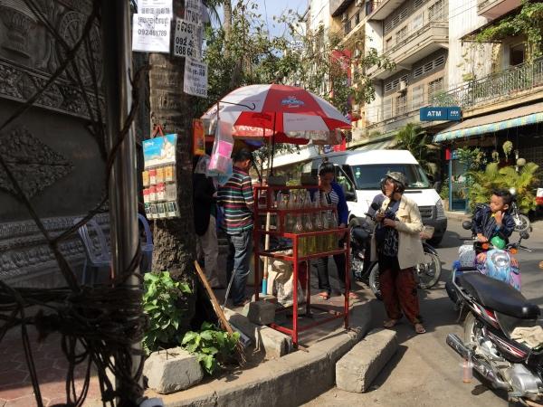 Pnhom Penh rua no centro