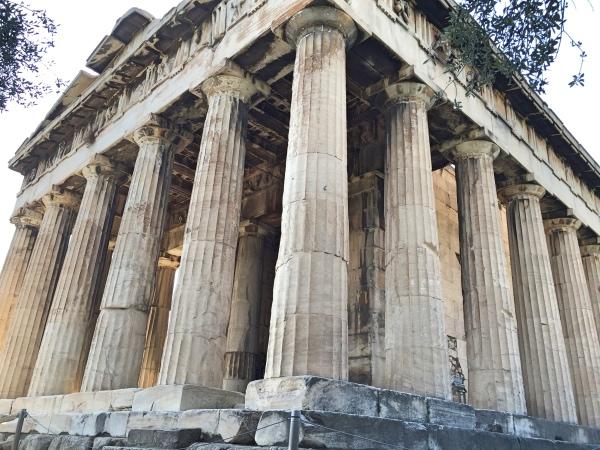 Colunas Templo de Hefesto