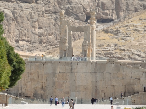 Entrada de Persepolis Irã