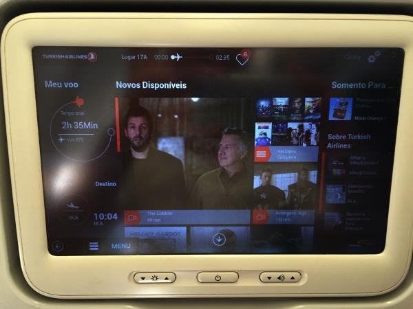 Entretenimento de bordo Turkish