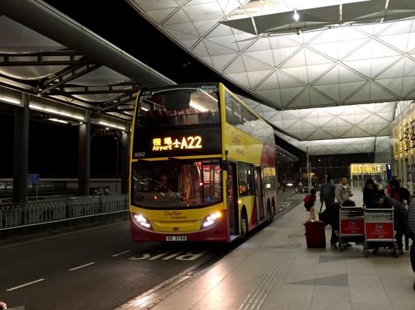 Onibus aeroporto Hong Kong