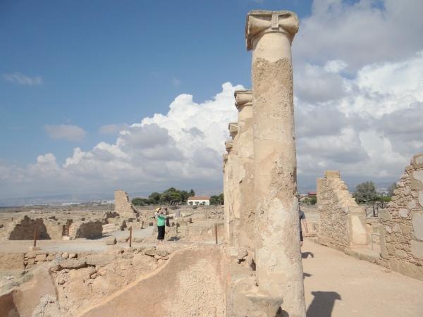 Colunas Romanas de Paphos Chipre