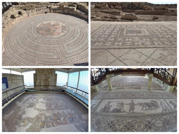 Mosaicos do parque arqueologico de Paphos