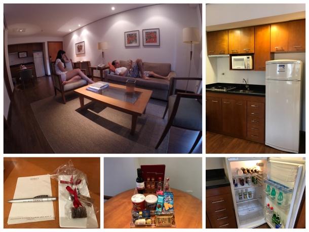 Quarto do hotel George V Casa Branca