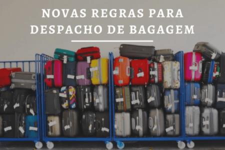 Veja as novas regras que acabam com a franquia de bagagem