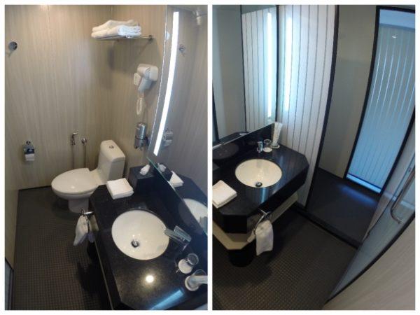 Banheiro do Holiday Inn KLCC