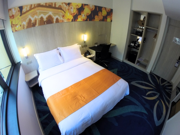 Quarto do Holiday Inn Express KLCC