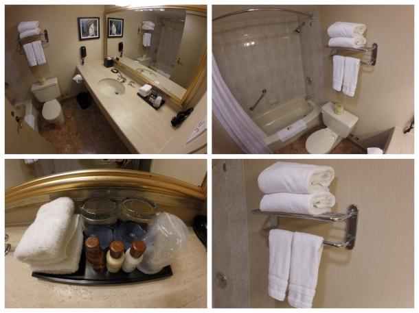 Banheiro do Sheraton Ottawa
