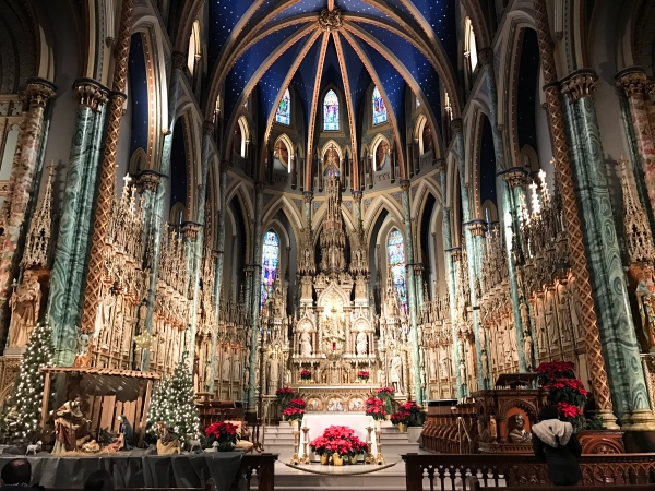 Notre Dame Cathedral Basilica Ottawa